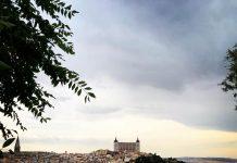 Tormenta de verano desde el Valle - Toledo 2018