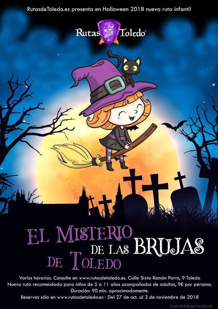 Ruta infantil: El Misterio de las Brujas de Toledo