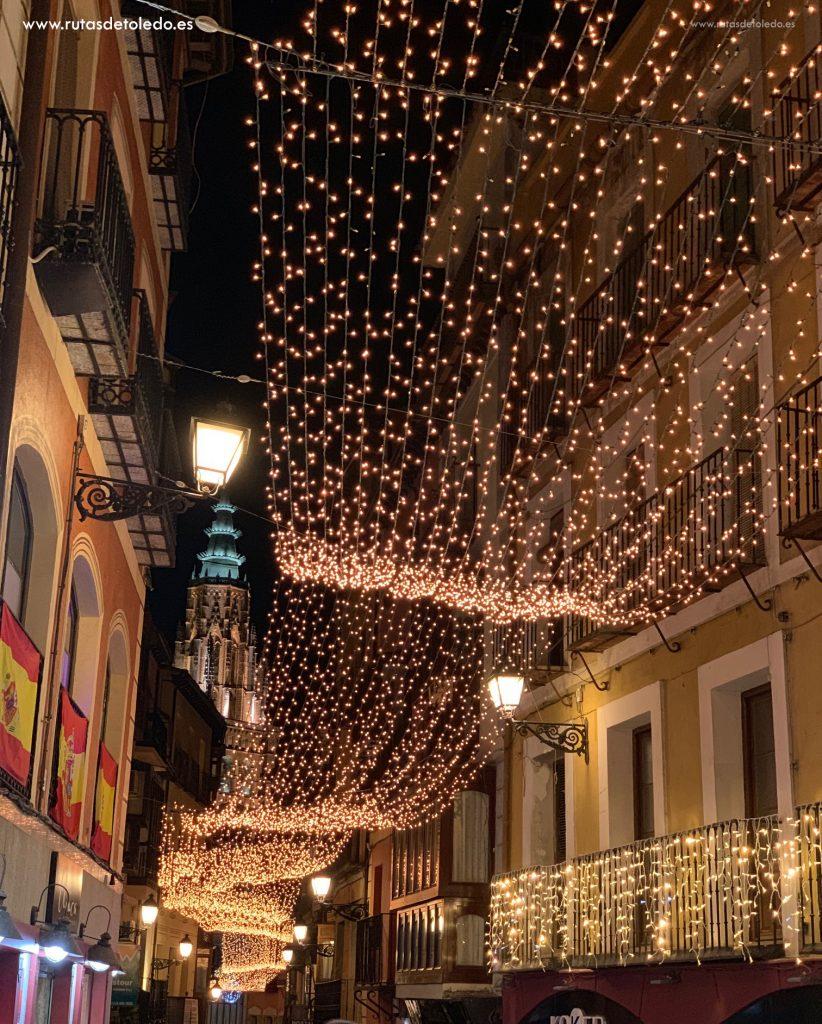 Calle Comercio Navidad 2018. Decoración