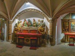 Cripta de la Catedral de Toledo por Lisardo Gómez