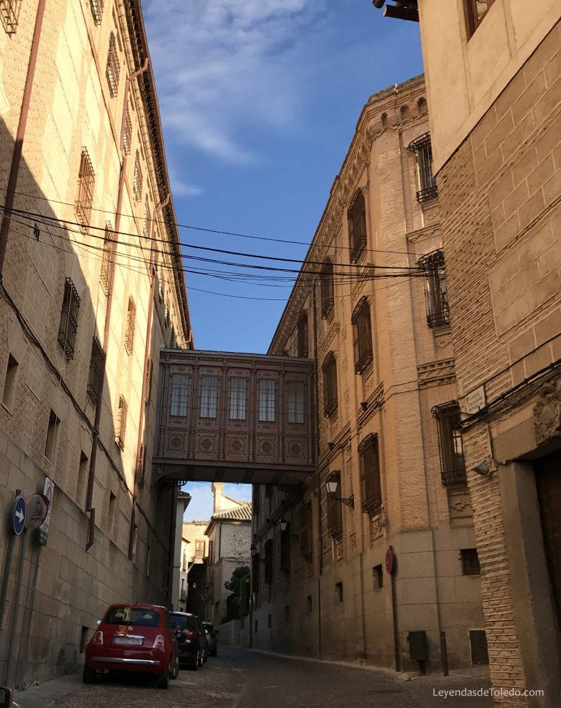 Pasaje metálico de Doncellas (Toledo)