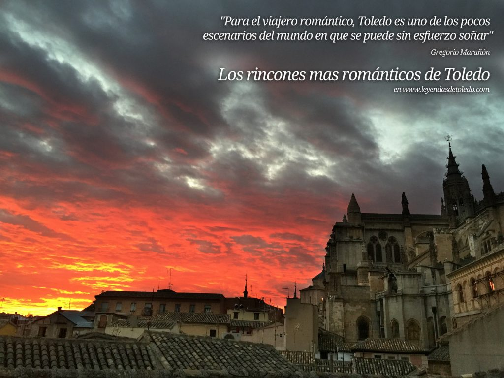 10 rincones románticos en Toledo