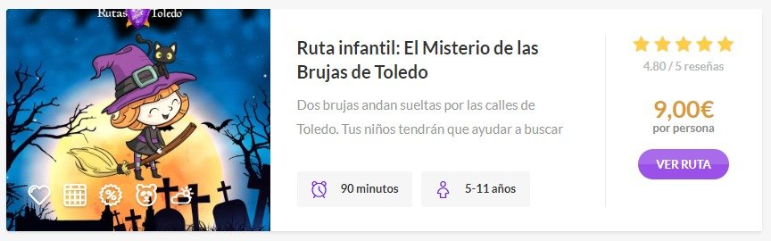 Ruta infantil por Toledo