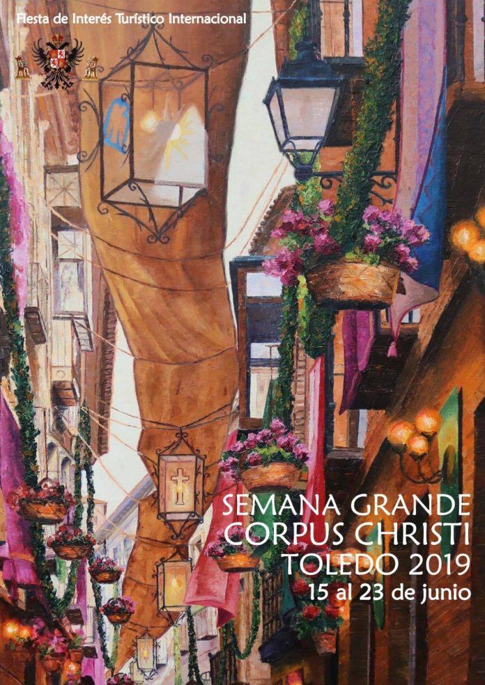 Cartel Corpus Christi Toledo 2019, por Alfredo García del Río