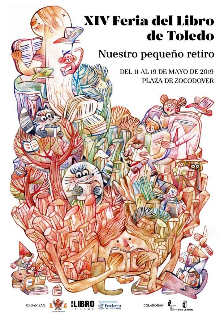 Cartel de la Feria del Libro de Toledo 2019