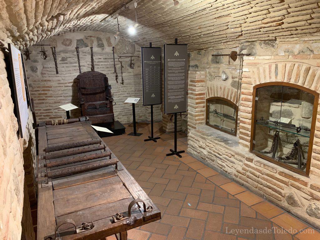 Sala del Museo de Instrumentos de Tortura de Toledo