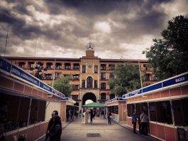 Feria del Libro de Toledo 2018 en Zocodover
