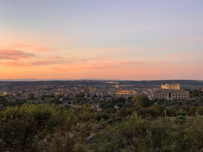 Panorámica de Toledo desde el Cigarral Santa María