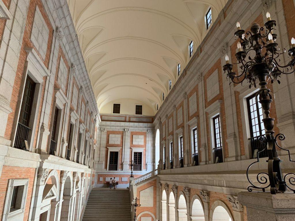 Escalera Imperial del Alcázar de Toledo