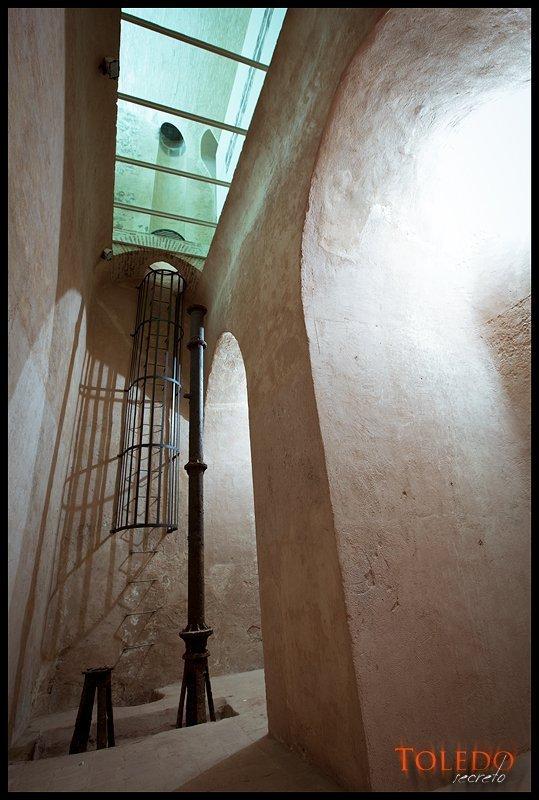 Aljibe del Alcázar de Toledo. Foto: David Utrilla