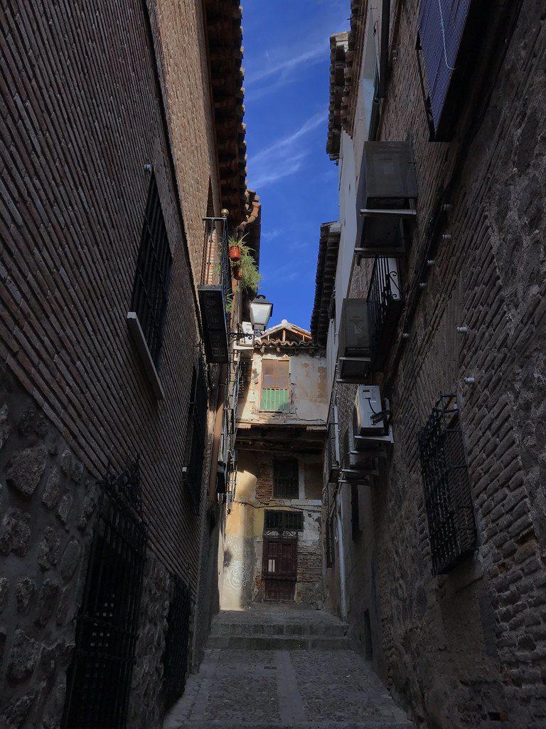 Callejón Niños Hermosos en Toledo, en 2017