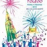 Cartel Feria y Fiestas Virgen del Sagrario en Toledo 2019