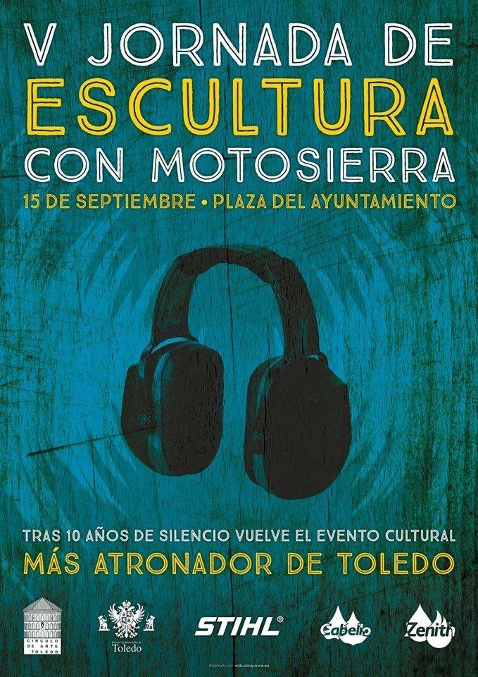 V Jornadas de Escultura con Motosierra en Toledo