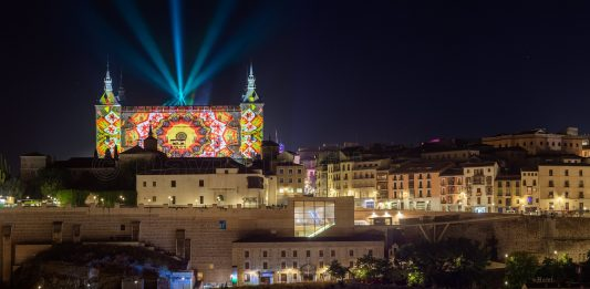 Luz Toledo en el Alcázar de Toledo. Foto: David Utrilla