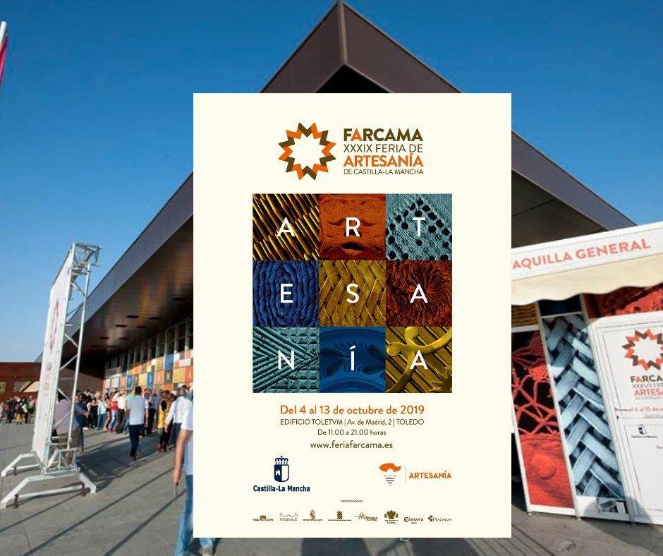 Cartel Feria Farcama Toledo 2019