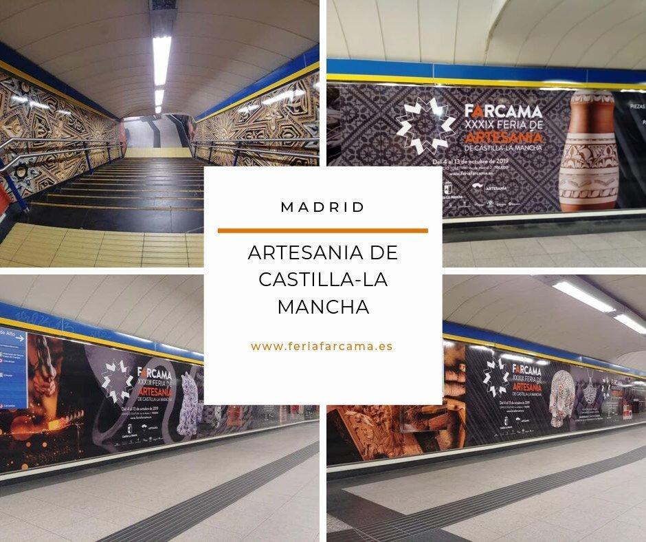 Campaña publicitaria Farcama en Madrid