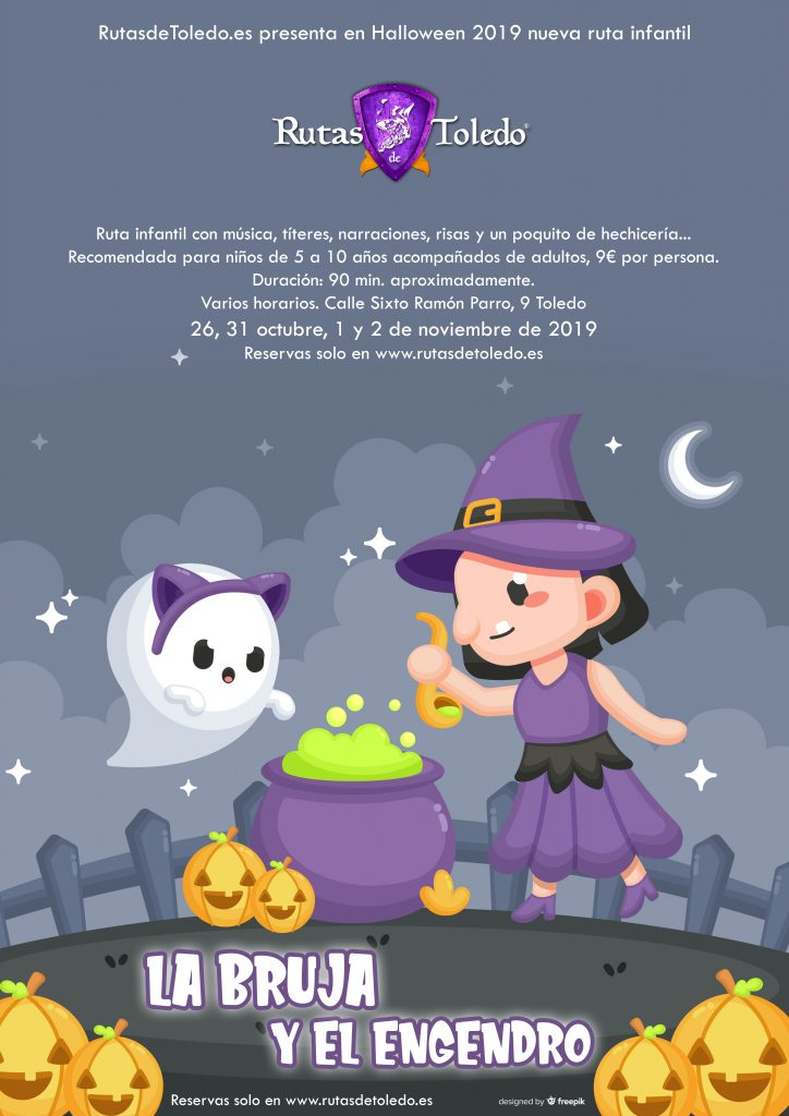 Ruta infantil Halloween 2019 en Toledo