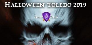 Cartel El Subterráneo del Terror en Rutas de Toledo. Halloween 2019