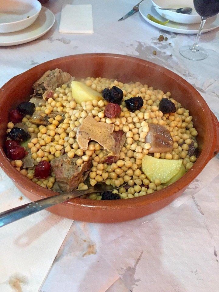 Comer Cocido en Toledo. Foto Eduardo Salas.