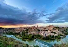 Panorámica de Toledo, septiembre 2019 desde el Valle