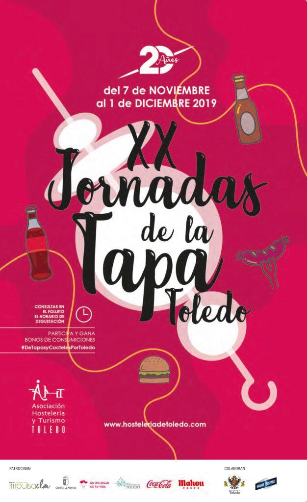 XX Jornadas de la Tapa y VI edición de Cócteles por Toledo 2019
