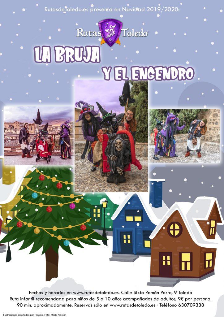 Ruta La Bruja y el Engendro en Rutas de Toledo. Edición Navidad