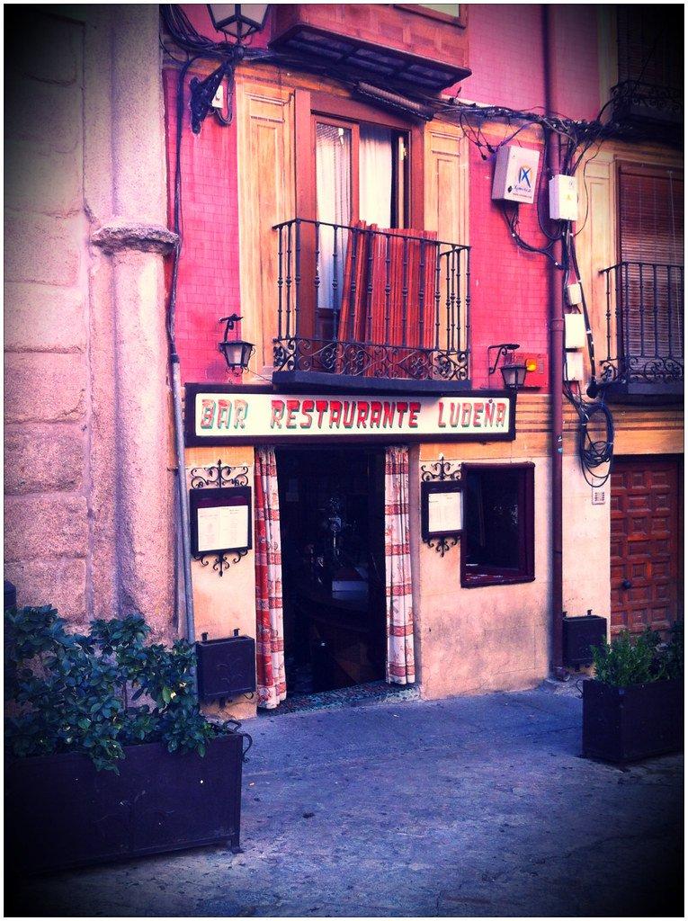 Restaurante Ludeña en Toledo