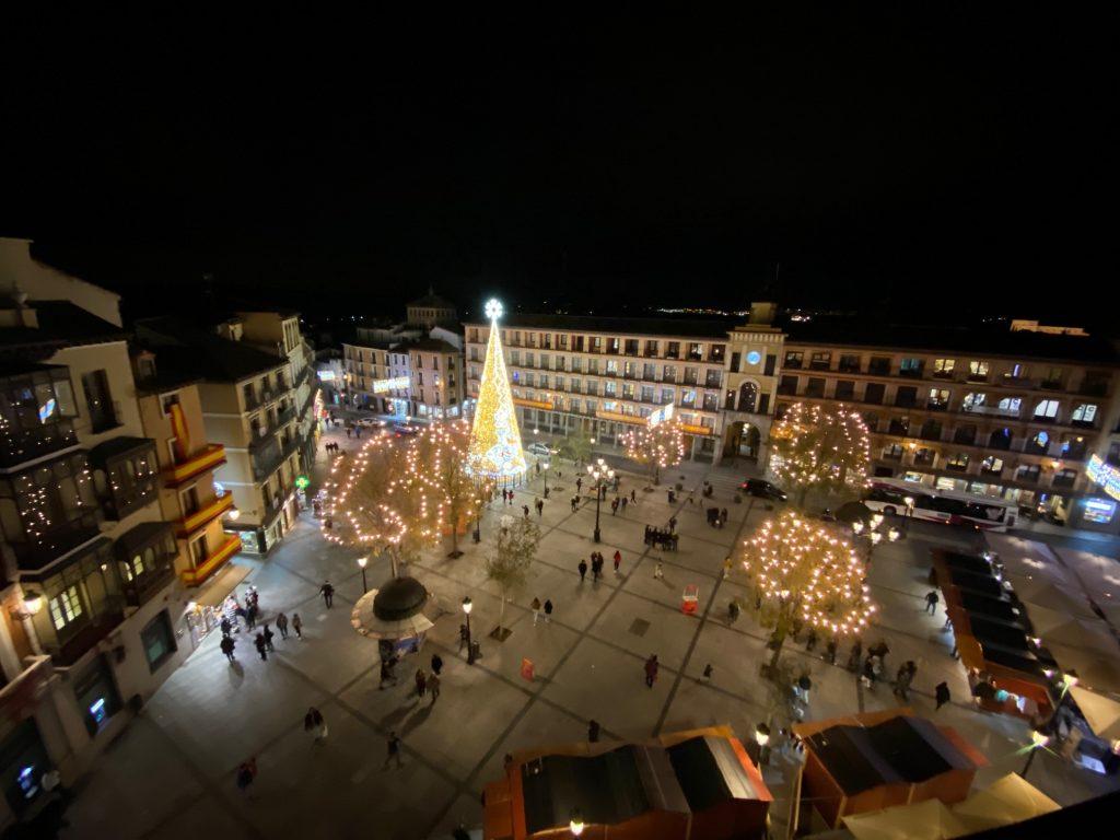 Navidad en la Plaza de Zocodover de Toledo