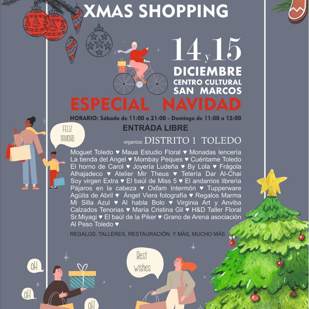 """Centro Cultural San Marcos. """"Xmas shopping"""""""