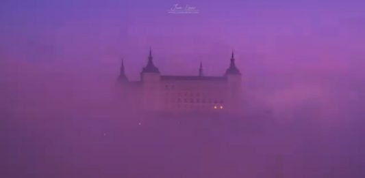 Timelapse niebla en Toledo por Juan López