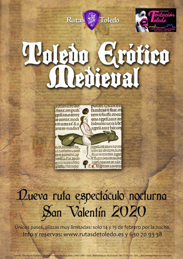 Ruta Toledo Erótico Medieval en Rutas de Toledo, especial San Valentín 2020