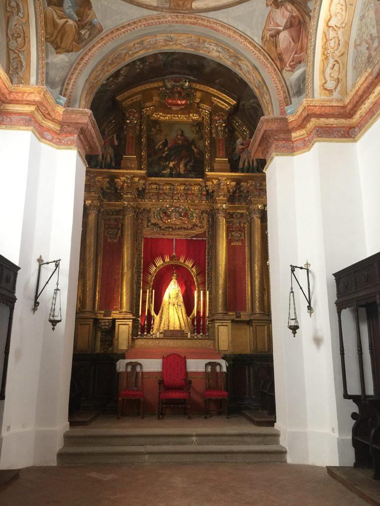 Interior de la Iglesia de San Lucas (Toledo), en la actualidad