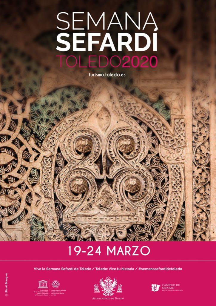 Cartel oficial de la Semana Sefardí de Toledo 2020