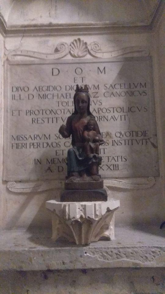Virgen sedente con Niño. Catedral de Toledo. Foto: Carlos Dueñas.