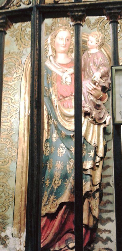 Imagen de la Virgen en la Catedral de Toledo. Foto: Carlos Dueñas