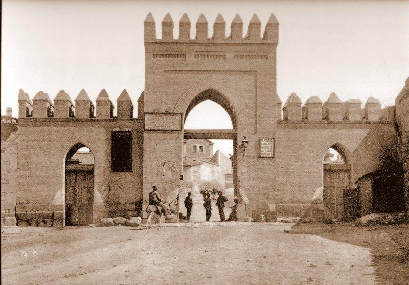 Puerta de San Martín (Toledo). Fuente: Toledo Olvidado.