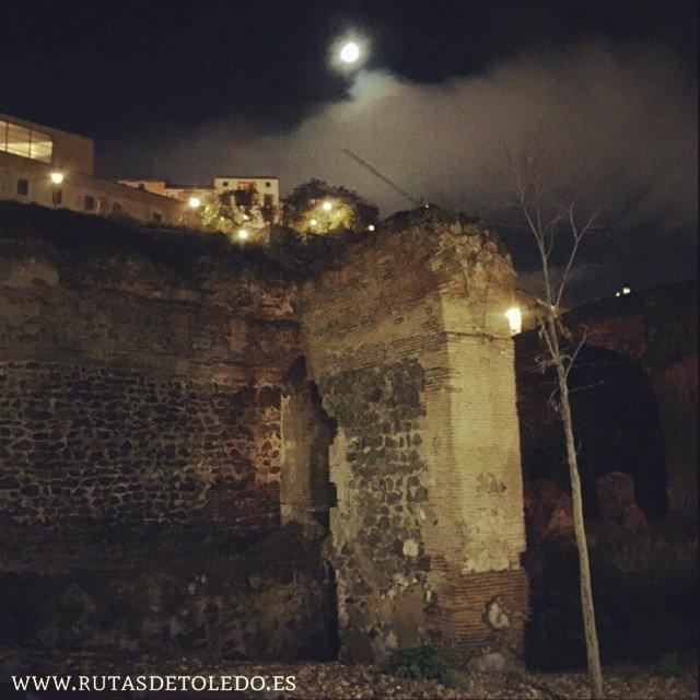 Restos actuales del Convento del Granadal en Toledo