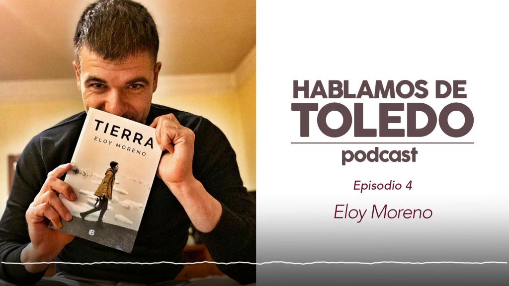 """Eloy Moreno en """"Hablamos de Toledo"""" episodio 4."""