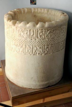 El brocal de la Mezquita Aljama de Toledo, conservado en el Museo de Santa Cruz. Foto: Ceres.