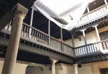 Patio de la Casa de las Cadenas, Museo de Arte Contemporáneo de Toledo hasta el año 2000