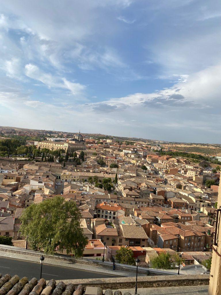 Vistas desde el mirador del Azor en Toledo