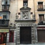 Portada del Hospital de Santiago en Toledo