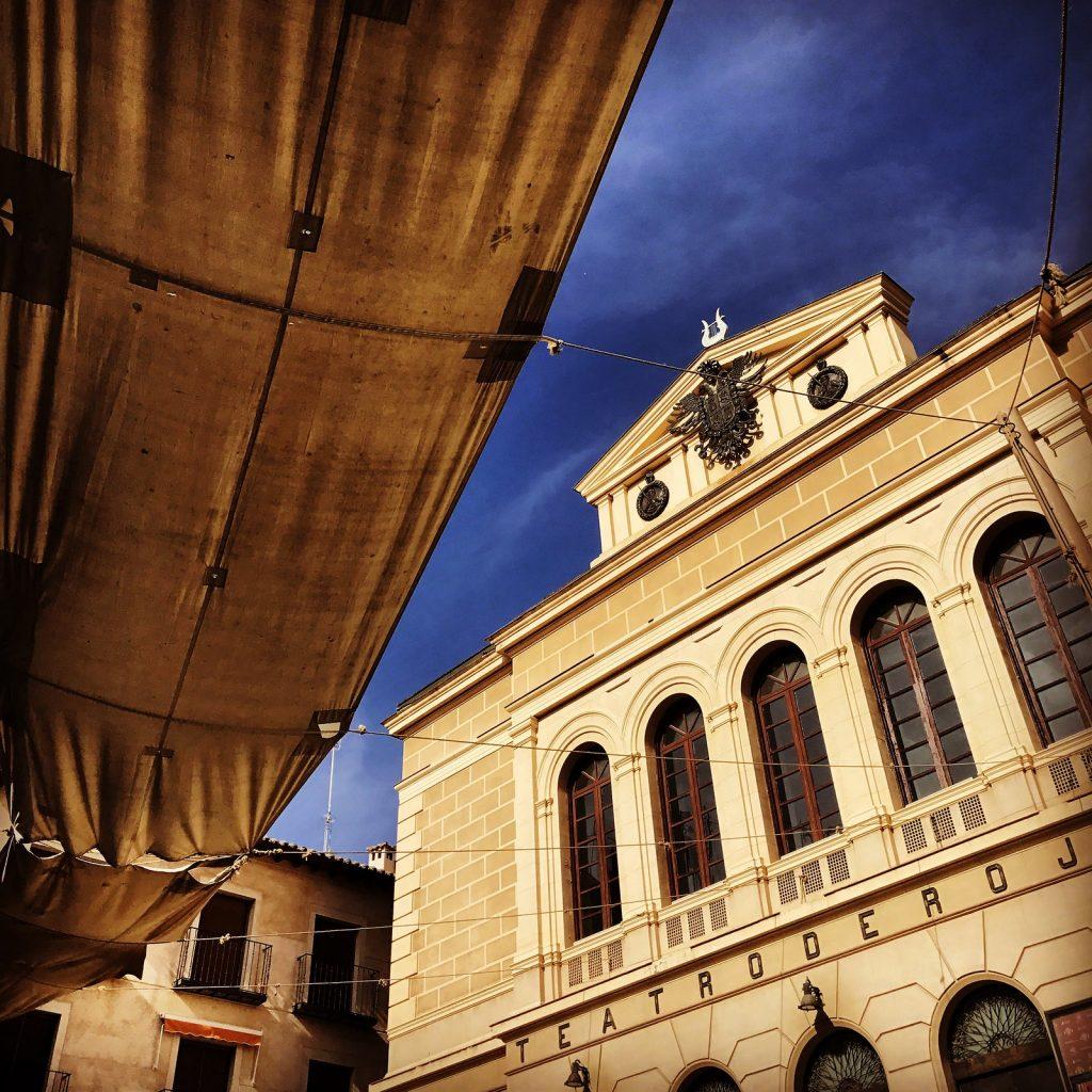 El Teatro de Rojas en Toledo, en la actualidad.