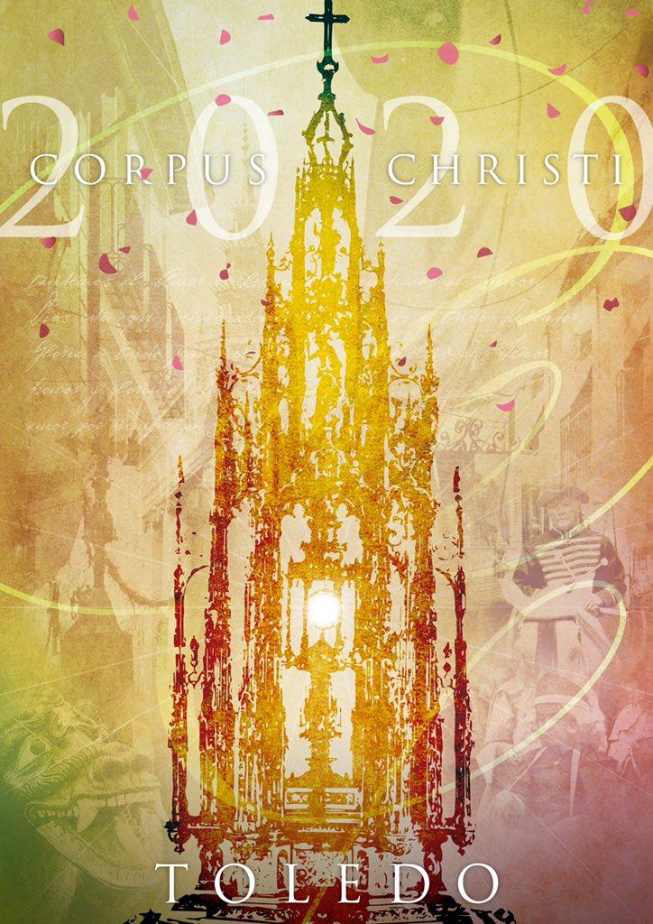 Cartel Corpus Christi Toledo 2020.