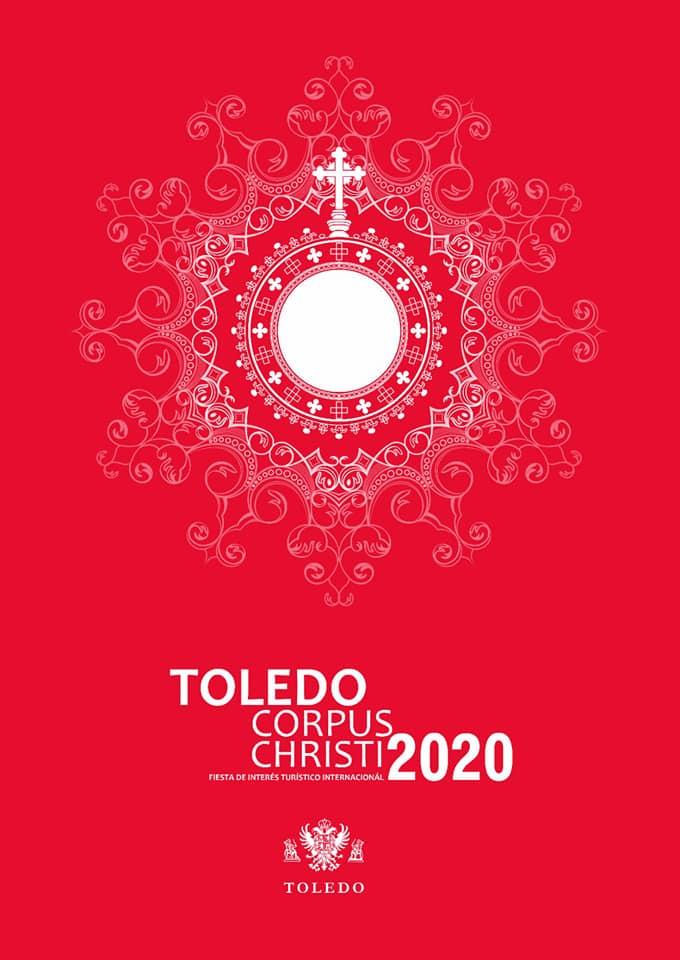 Cartel Municipal Corpus Christi 2020. Fuente: Facebook Milagros Tolón.
