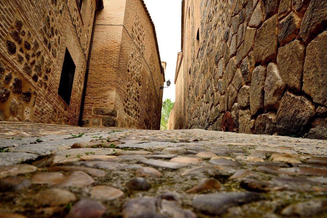 Calle de Toledo empedrada