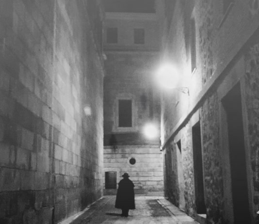 Una calle siniestra de Toledo