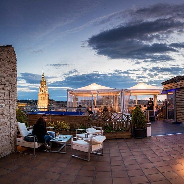 Terraza Hotel Carlos V
