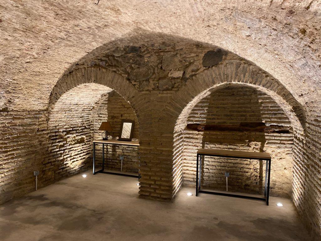 La Casita de Candela Toledo, subterráneo.