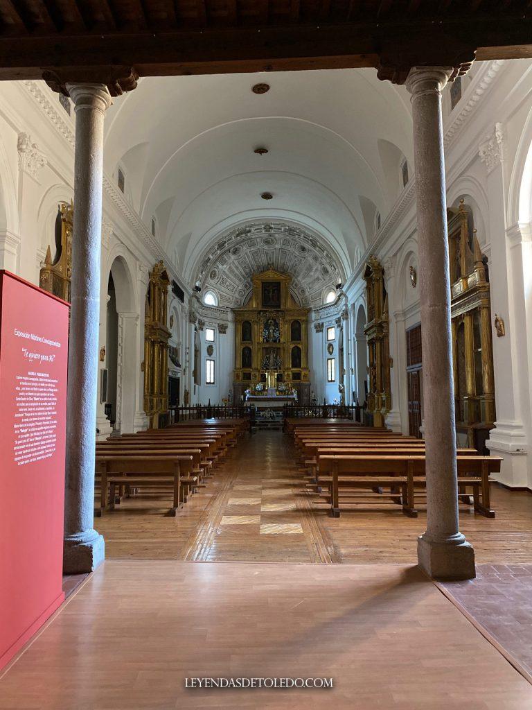 Iglesia del convento de las Concepcionistas en Toledo. (25/08/2020)